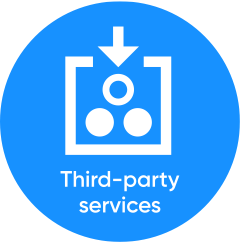 Third party services